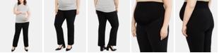 Motherhood Maternity Plus Size The Zelie Secret Fit Belly Straight Leg Pants