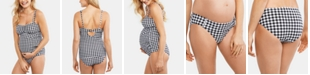 Motherhood Maternity Printed Tankini Swimsuit