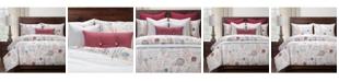 Siscovers Posctscript Blue 6 Piece Full Size Luxury Duvet Set
