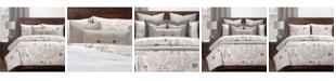 Siscovers Postscript Linen 5 Piece Twin Luxury Duvet Set