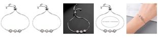 Nicole Miller Three Bead Slider Bracelet