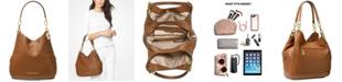Michael Kors Lillie Chain Leather Hobo