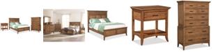 Furniture Lockeland Solid Wood Bedroom Furniture 3-Pc. Set (California King Bed, Nightstand & Chest)