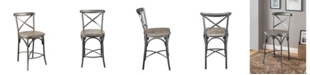 Acme Furniture Kaelyn II Counter Height Chair, Set of 2