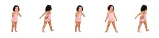 Masala Baby Girls Ruffled One Piece Cactus
