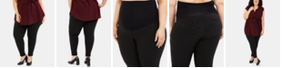 Motherhood Maternity Plus Size Skinny Ankle Pants