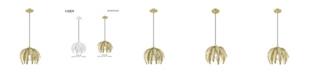 Livex Acanthus 1-Light Mini Pendant