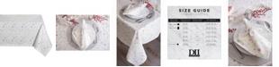 "Design Import Christmas Star Print Table Cloth 60"" x 104"""