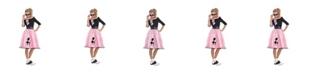 Amscan Sock Hop Sweetie 50'S Adult Women's Costume