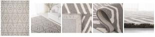 Lauren Ralph Lauren Imani Geometric LRL6609F Sepia 5' X 8' Area Rug
