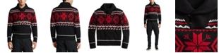Polo Ralph Lauren Men's Snowflake Cotton-Blend Sweater
