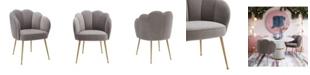 TOV Furniture Peony Velvet Dining Chair