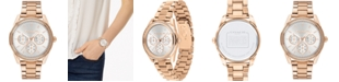 COACH Women's Preston Rose Gold-Tone Stainless Steel Bracelet Watch 36mm