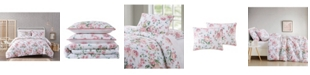 Pem America Cottage Classics Blooms Floral 3-Piece Comforter Set - King
