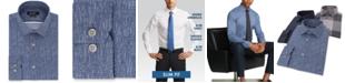 DKNY Men's Slim-Fit Stretch Kaihara Dress Shirt