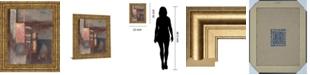 "Classy Art Fall II W/Leaf by Laurie Fields Framed Print Wall Art, 22"" x 26"""