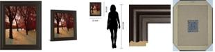 "Classy Art Autumn Snow II by Alicia Suave Framed Print Wall Art, 22"" x 26"""