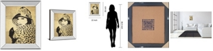"Classy Art Fashion News II by Wild Apple Graphics Mirror Framed Print Wall Art, 22"" x 26"""