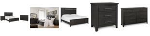 Furniture Burbank  Bedroom Furniture, 3-Pc. Set (King Bed, Nightstand & Dresser)