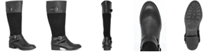 Style & Co Ashliie Wide-Calf Riding Boots, Created For Macy's