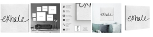 "Oliver Gal Exhale Minimalist Canvas Art, 24"" x 24"""