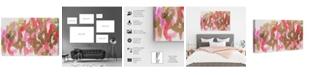 "Oliver Gal Pink Palaris Canvas Art, 36"" x 24"""