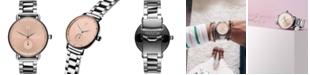 MVMT Women's Bloom Blush Dhalia Stainless Steel Bracelet Watch 36mm