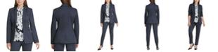 DKNY Petite Single-Button Blazer
