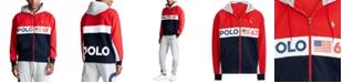 Polo Ralph Lauren Men's Logo Double-Knit Full-Zip Hoodie
