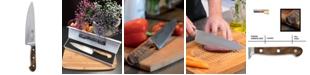 "Carl Schmidt Sohn TESSIN German 8"" Chef Knife with Walnut Handle"