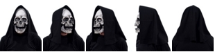 Zagone Studios ZagOne Size Studios Glow Grim Skull Uv Latex Adult Costume Mask One Size