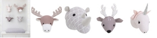 NoJo Plush Animal Head Wall Decor