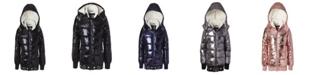 Kensie Girl Little Girl Metallic Puffer Jacket