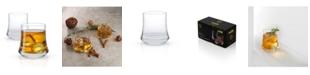 JoyJolt Cosmos Whiskey Glasses - Set of 2