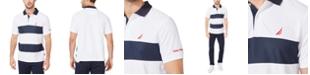 Nautica Men's Classic-Fit Navtech Colorblocked Polo