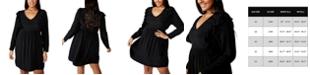 COTTON ON Trendy Plus Size Britt Babydoll Mini Dress