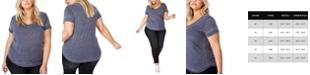 COTTON ON Trendy Women's Plus Size Karly Short Sleeve Tee