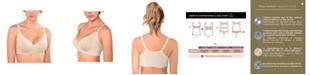 Annette Women's Pima Cotton Front Closure Demi Bra