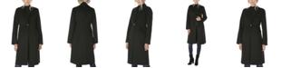 Tahari Single-Breasted Double-Face Walker Coat