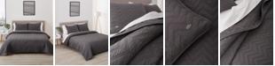 Lacoste Home  Herringbone Stitch Quilt Set