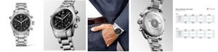 Longines Men's Automatic Spirit Stainless Steel Chronometer Bracelet Watch 42mm