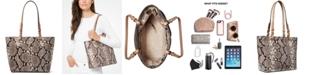 Michael Kors Bedford Medium Leather Pocket Tote
