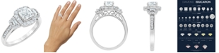 Macy's Diamond Engagement Ring (1 5/7 ct. t.w.) in 18k White Gold