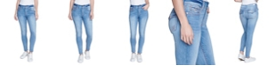 Seven7 Women's Contrast Stitch Skinny Jean