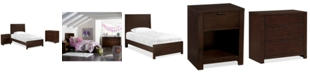 Furniture Tribeca Twin 3-Pc. Bedroom Set, Created for Macy's,  (Bed, Nightstand & Chest)