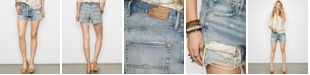 Denim & Supply Ralph Lauren Distressed Denim Boyfriend Shorts