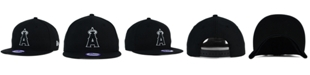 New Era Kids' Los Angeles Angels of Anaheim Black White 9FIFTY Snapback Cap