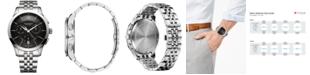 Victorinox Swiss Army Men's Swiss Chronograph Alliance Stainless Steel Bracelet Watch 44mm 241745