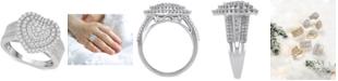 Macy's Diamond Heart Ring (1 ct. t.w.) in 14k White or Rose Gold