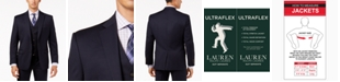 Lauren Ralph Lauren Solid Ultraflex Classic-Fit Wool Jacket
